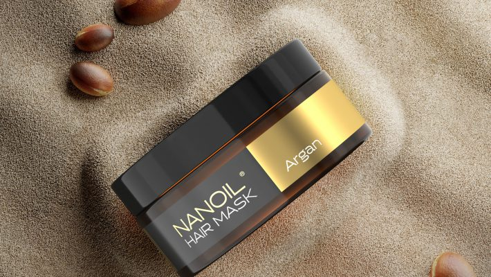 nanoil argan oil maska do włosów